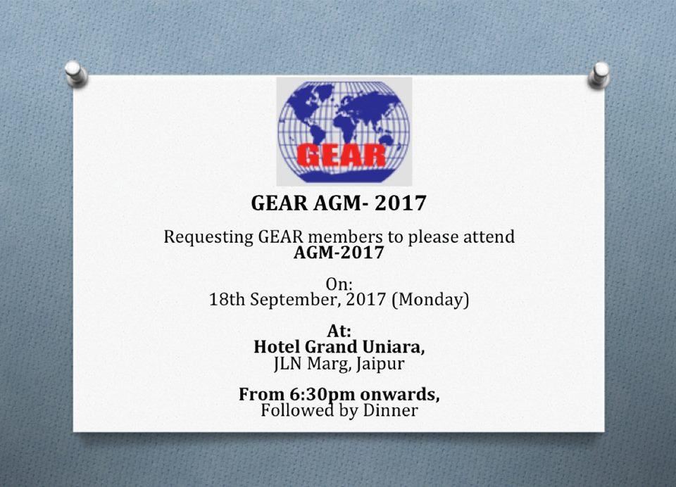 Garment Exporters Association of Rajasthan (GEAR), Jaipur, India
